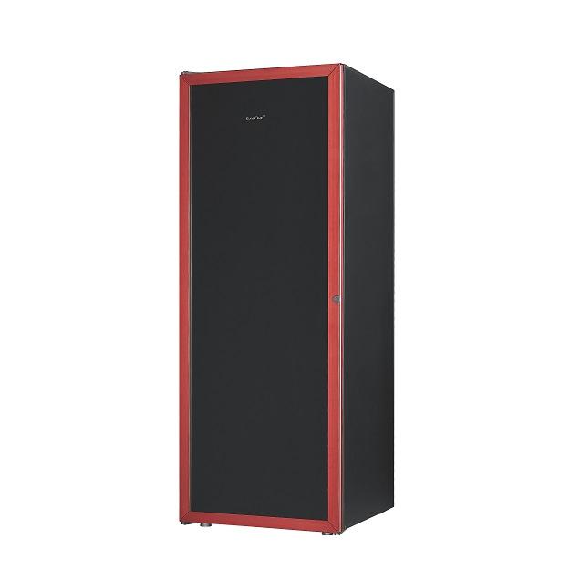 EuroCave Premiere Range sort dør med rød ramme